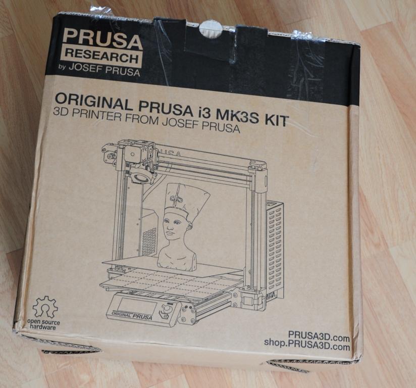 Prusa mk3s 1 - Prusa MK3S - Qualité et facilité