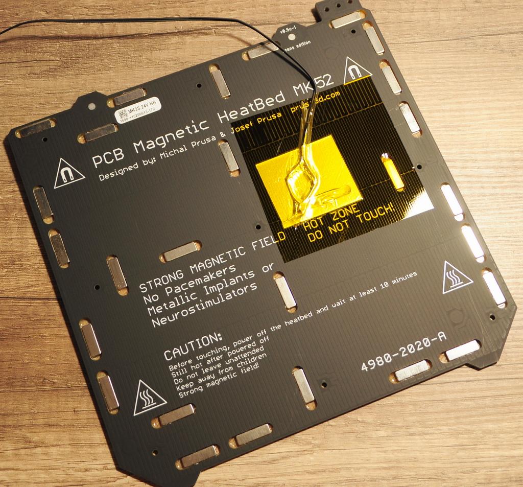Prusa mk3s 14 - Prusa MK3S - Qualité et facilité