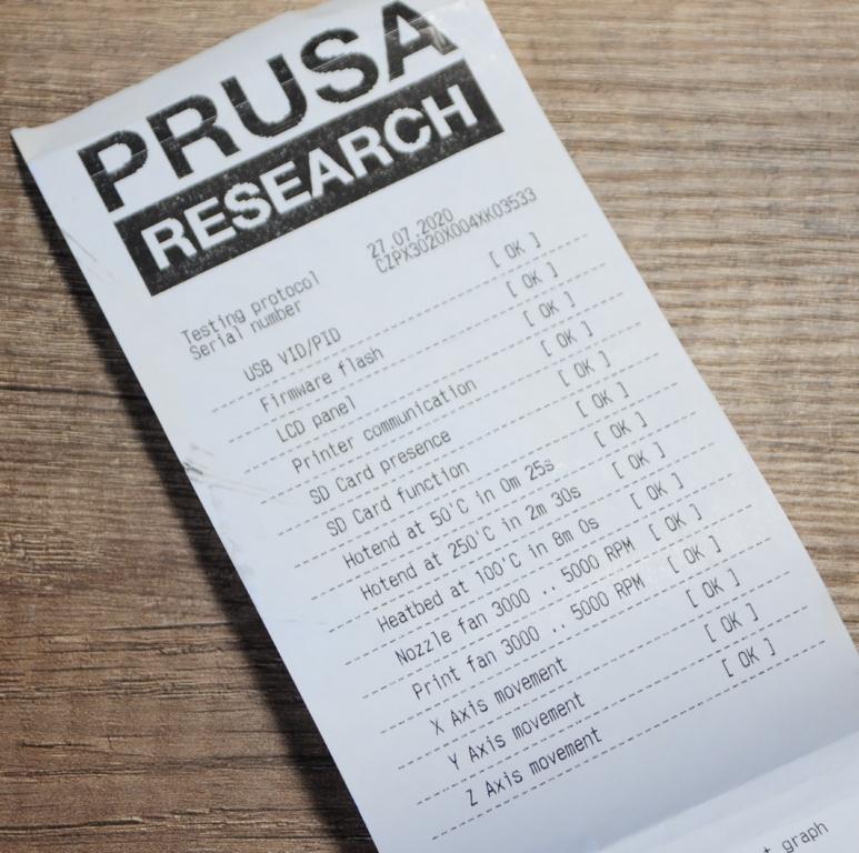 Prusa mk3s 3 - Prusa MK3S - Qualité et facilité