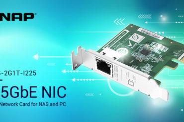 QNAP QXG 2G1T I225 370x247 - QNAP annonce 3 cartes réseau 2,5 GbE pour NAS et PC... à partir de 70€