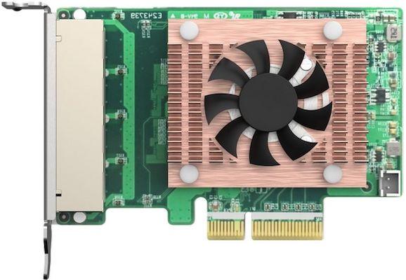 QXG 2G4T I225 - QNAP annonce 3 cartes réseau 2,5 GbE pour NAS et PC... à partir de 70€