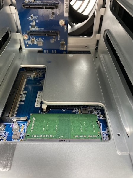 RAM - NAS - Test du QNAP TS-453D