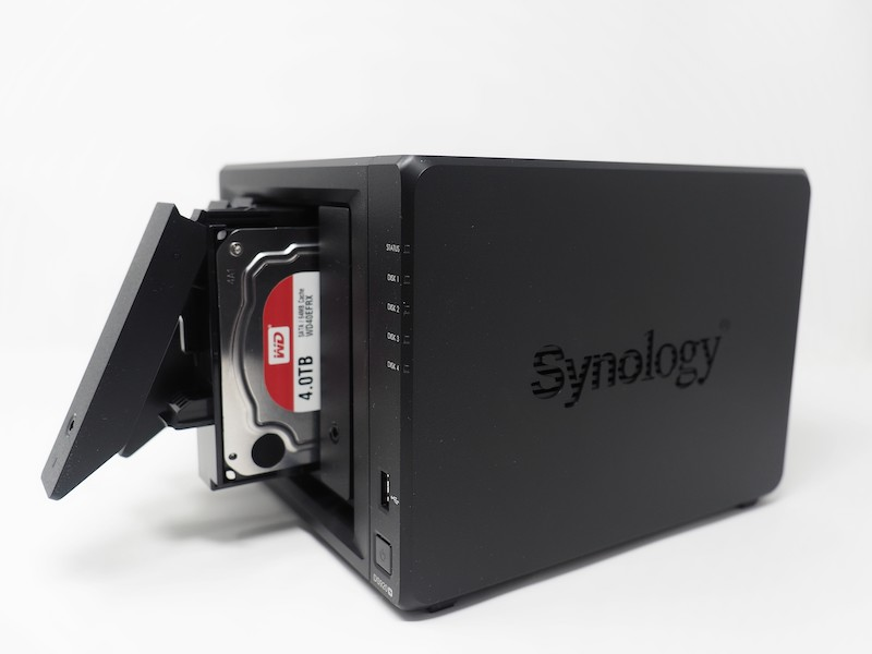 WD RED - NAS – Test du Synology DS920+