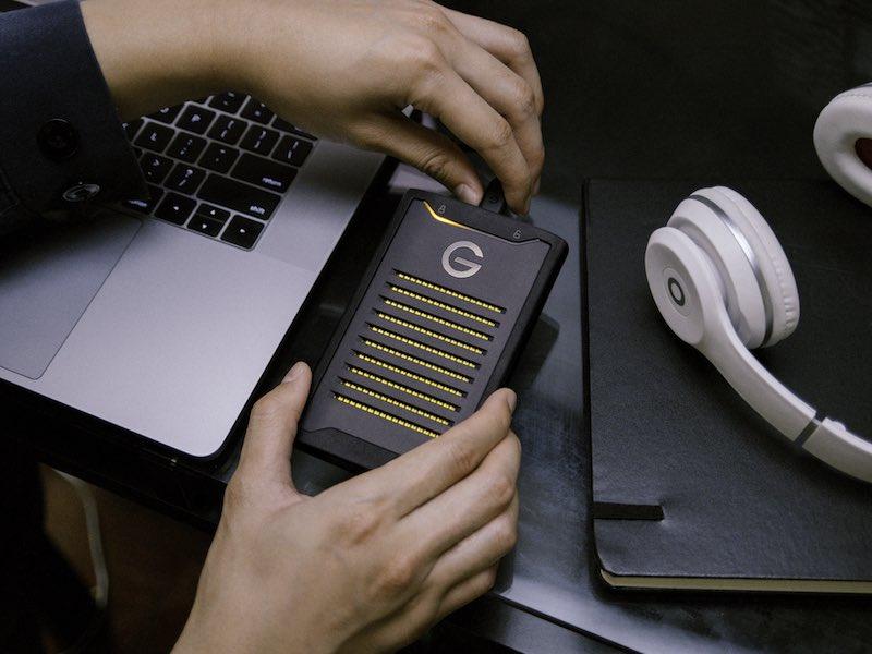 ArmorLock - ArmorLock : disque SSD externe, chiffré et connecté en Bluetooth