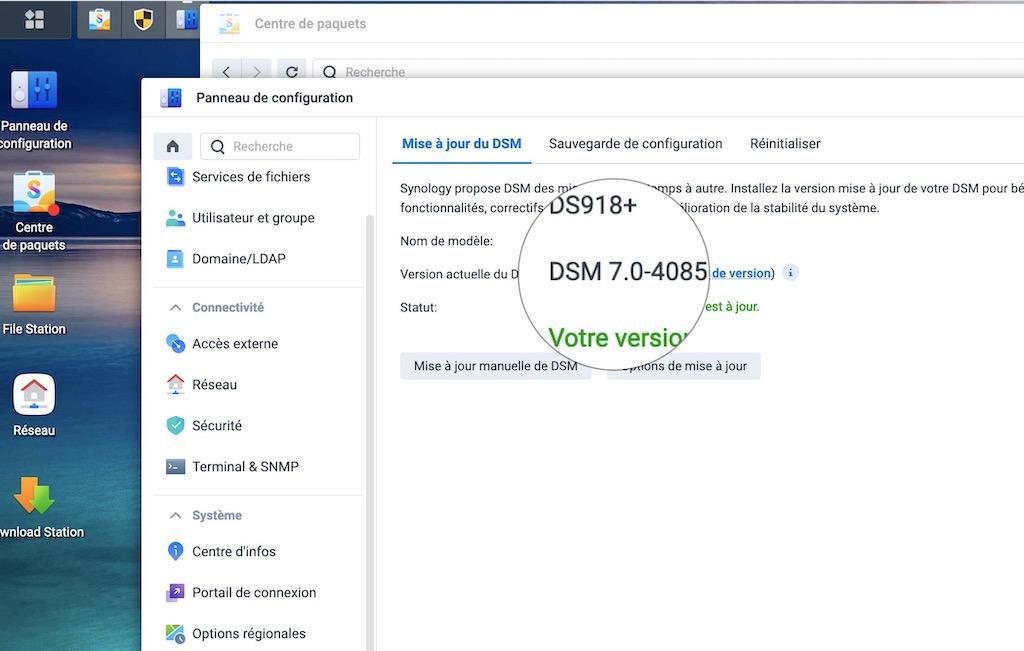 DSM 7 DS918 - Synology DSM 7.0 débarque enfin... en version Preview