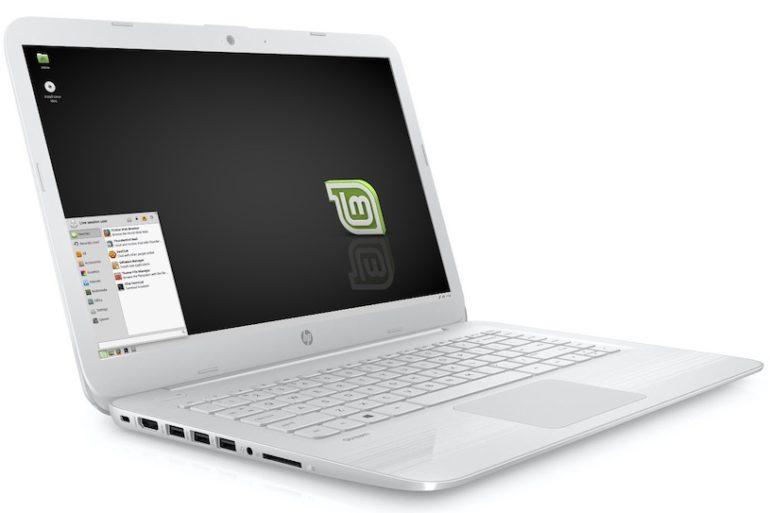 HP Stream 14 Linux Mint 770x513 - Linux Mint 20 sur un ancien ordinateur portable
