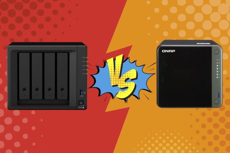 Synology VS Qnap 770x513 - Comparatif NAS : Synology DS920+ vs QNAP TS-453D