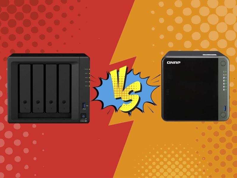 Synology VS Qnap - Comparatif NAS : Synology DS920+ vs QNAP TS-453D
