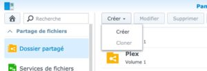 creer dossier partage 6 300x103 - Synology DSM 7.0 : aperçu de l'interface et des nouvelles fonctionnalités