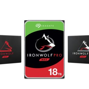 ironwolf 2020 293x293 - NAS - Seagate annonce un IronWolf Pro 18 To et 2 nouveaux SSD