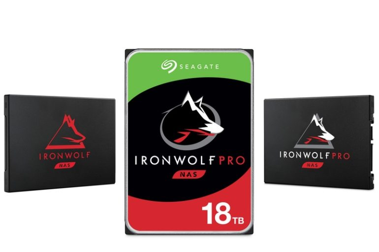 ironwolf 2020 770x513 - NAS - Seagate annonce un IronWolf Pro 18 To et 2 nouveaux SSD