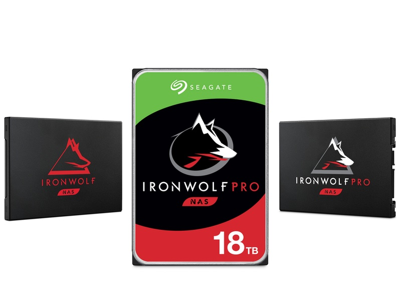 ironwolf 2020 - NAS - Seagate annonce un IronWolf Pro 18 To et 2 nouveaux SSD