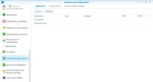 portail de connexion applications 6 300x162 - Synology DSM 7.0 : aperçu de l'interface et des nouvelles fonctionnalités