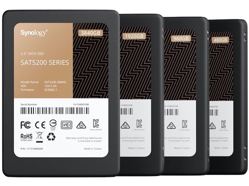 synology SSD sat5200 - SSD - Synology annonce le SAT5200 3840GB
