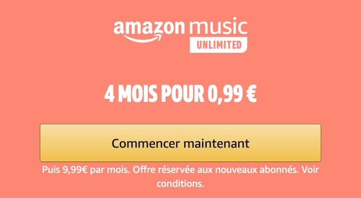 Amazon Music Unlimited - Offres exclusives Amazon Prime Day (13 et 14 octobre )