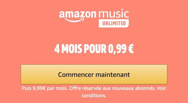 Amazon Music Unlimited - Offres exclusives Amazon Prime Day (13 et 14 octobre )