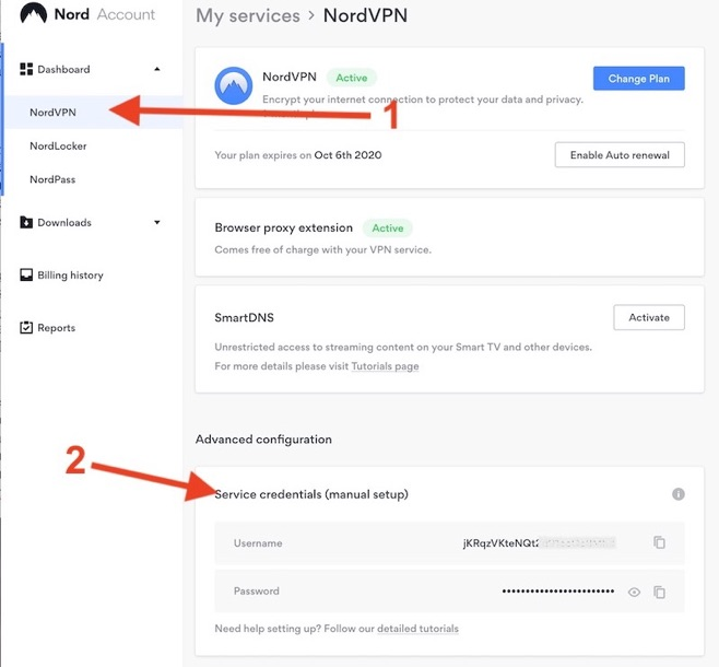 Nord account - NordVPN : Performances et NAS Synology