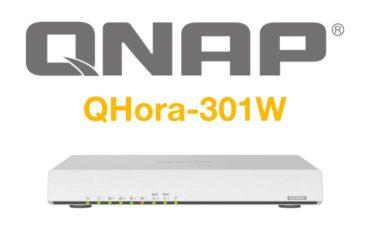 QNAP QHora 301W 370x247 - QHora-301W, le premier routeur de QNAP : Wi-Fi 6, 10 Gbit/s, SD-WAN...