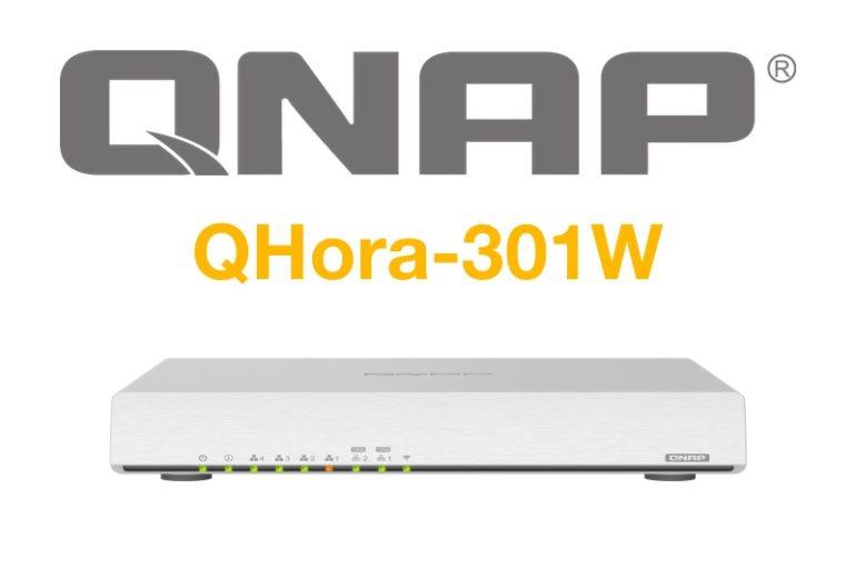 QNAP QHora 301W 770x513 - QHora-301W, le premier routeur de QNAP : Wi-Fi 6, 10 Gbit/s, SD-WAN...