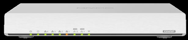 QNAP QHora 301W - QHora-301W, le premier routeur de QNAP : Wi-Fi 6, 10 Gbit/s, SD-WAN...