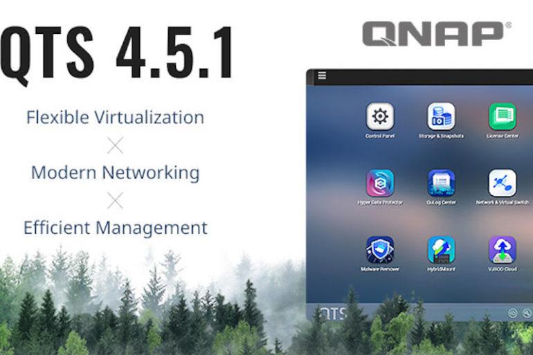 QNAP QTS 4.5.1 770x513 - QNAP met à jour ses NAS avec QTS 4.5.1 : Wi-Fi 6, migration de VM, TL SAS...
