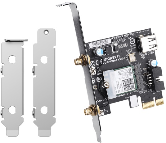 QNAP QXP W6 AX200 - QNAP met à jour ses NAS avec QTS 4.5.1 : Wi-Fi 6, migration de VM, TL SAS...