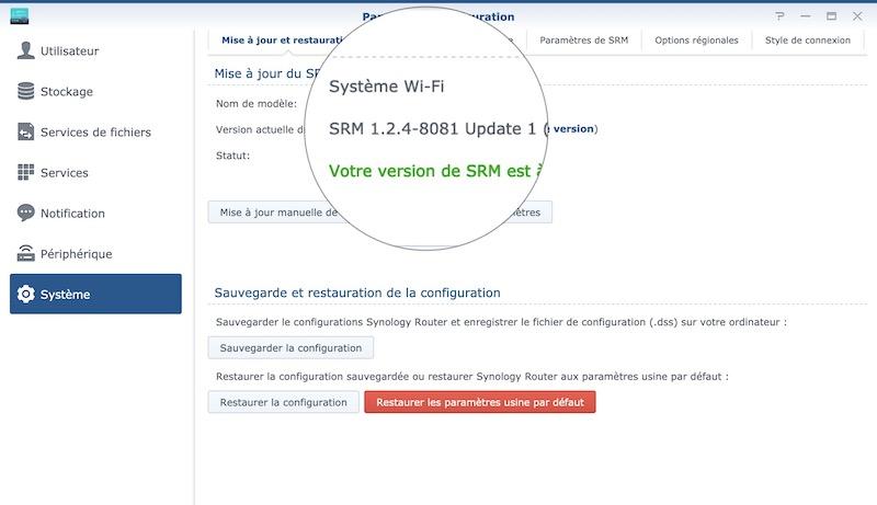 SRM 124 u 1 - Synology SRM 1.2.4 update 1