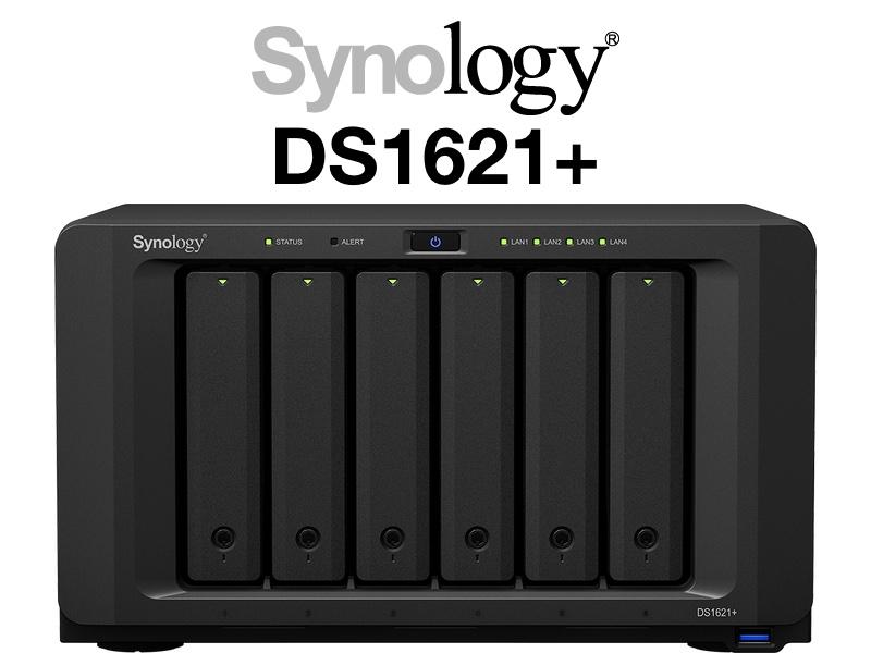 Synology DS1621 - NAS - Synology DS1621+ avec processeur AMD Ryzen V1500B