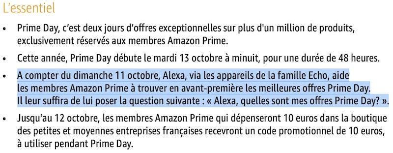 echo prime day - Amazon Prime Day, les meilleures offres en avant-première