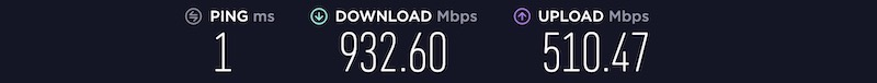 speedtest fibre - NordVPN : Performances et NAS Synology