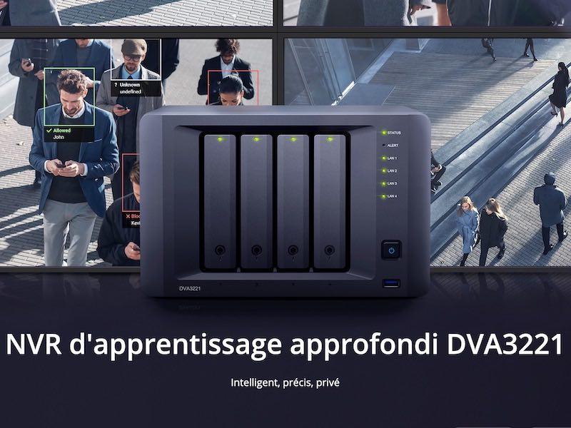DVA3221 - Synology lance le DVA3221 : NAS & NVR intelligent...