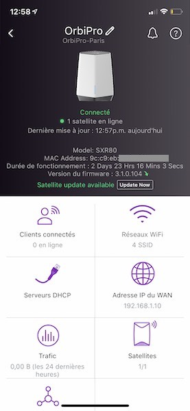 Netgear Insight - Test du kit Netgear Orbi Pro Wi-Fi 6