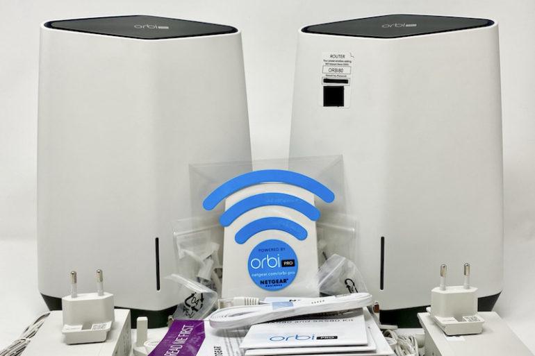 Netgear Orbi Pro Wi Fi 6 770x513 - Test du kit Netgear Orbi Pro Wi-Fi 6