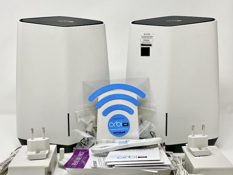 Netgear Orbi Pro Wi Fi 6 - Test du kit Netgear Orbi Pro Wi-Fi 6