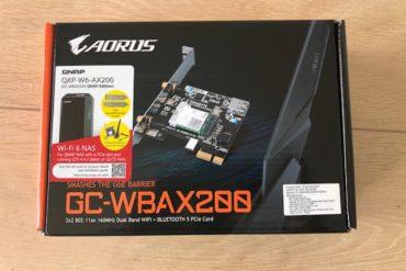 QNAP QXP W6 AX200 370x247 - QNAP QXP-W6-AX200 : Découverte du nouveau produit Wi-Fi 6 (et Bluetooth 5)
