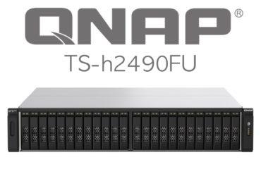 QNAP TS h2490FU 370x247 - QNAP se lance dans la haute performance avec le TS-h2490FU