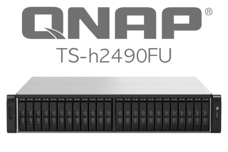 QNAP TS h2490FU 770x513 - QNAP se lance dans la haute performance avec le TS-h2490FU