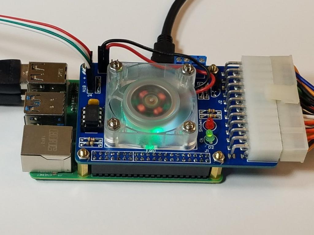 Rpi alim14 - Alimenter et piloter un Raspberry Pi avec une alim ATX