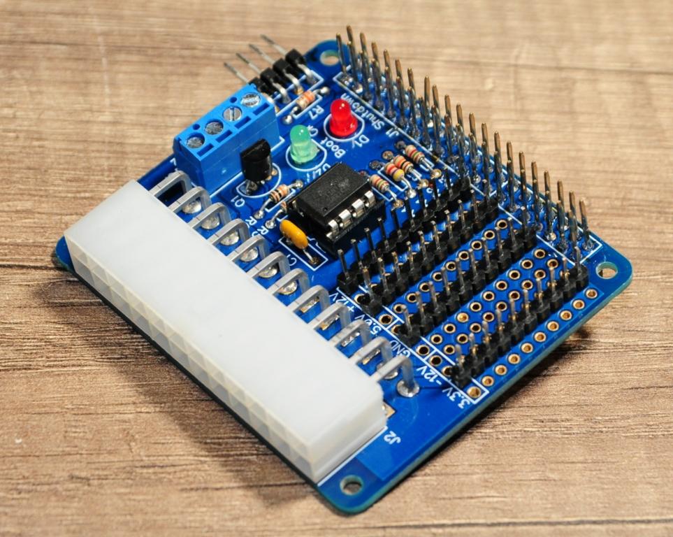 Rpi alim16 - Alimenter et piloter un Raspberry Pi avec une alim ATX