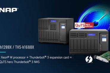 TVS hx88X 370x247 - NAS - QNAP lance les TVS-h1288X et TVS-h1688X : Intel Xeon, 10 Gbit/s, SSD NVMe...