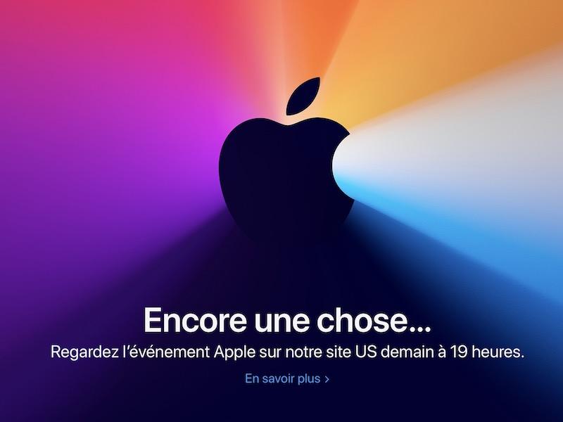 """apple 10 novembre - Apple """"One more thing"""", ce que l'on sait de la présentation"""