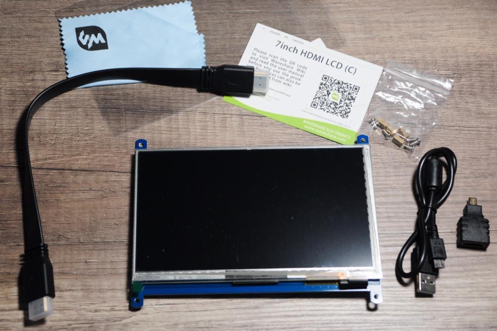 lcd rpi 2 - Raspberry Pi : Connecter un écran LCD tactile