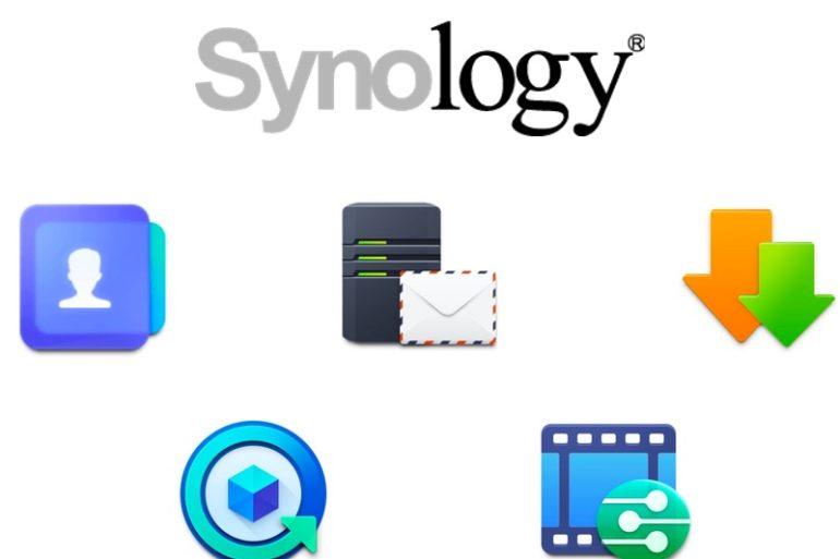 paquets synology 770x513 - NAS - Synology Contacts et autres nouveautés