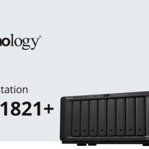 synology ds1821 293x293 - NAS - Synology DS1821+ s'affiche... AMD Ryzen, 32 Go de RAM et PCIe Gen3