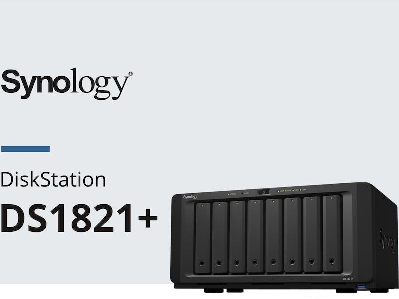 synology ds1821 - NAS - Synology DS1821+ s'affiche... AMD Ryzen, 32 Go de RAM et PCIe Gen3
