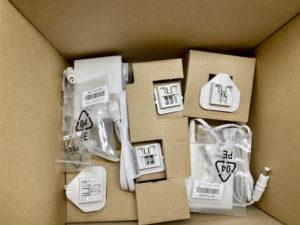 visserie 300x225 - Test du kit Netgear Orbi Pro Wi-Fi 6