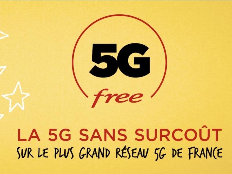 5G Free 2020 - 5G - Free revendique le plus grand réseau... sans surcoût pour le consommateur