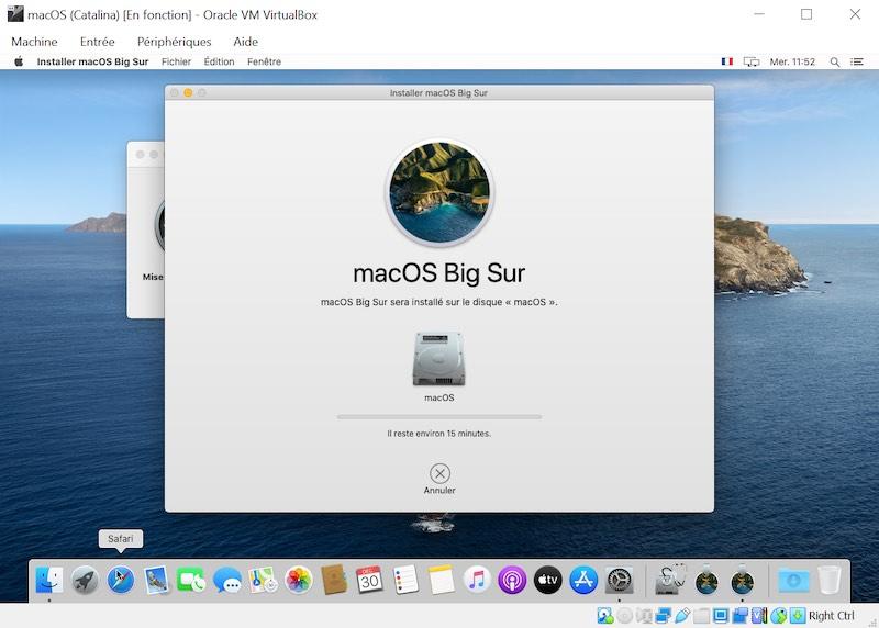 Installation Big Sur - VirtualBox - macOS Big Sur sur votre PC Windows