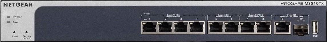 NETGEAR MS510TX 2020 - NAS 2020 - Guide d'achat et comparatif serveurs