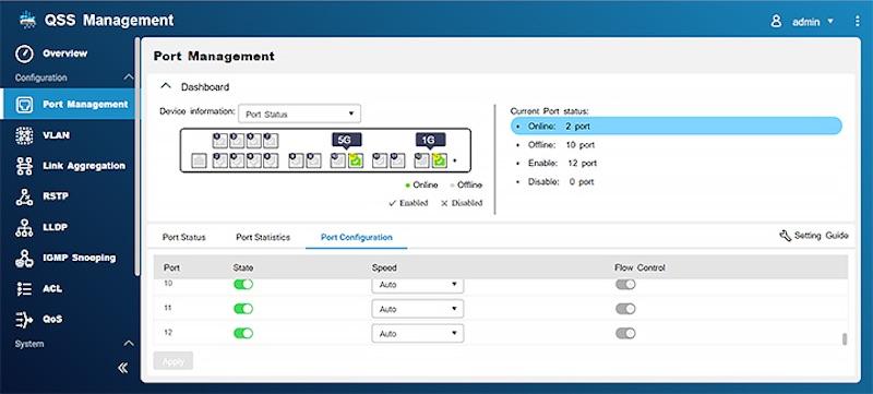 QNAP QSS 2020 - QNAP lance 3 switches administrables Multi-Gig : QSW-M1204-4C, QSW-M1208-8C et QSW-M804-4C